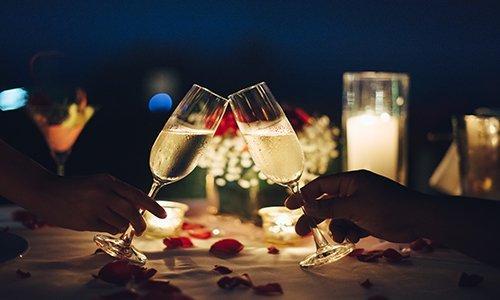 tantric dinner date savor